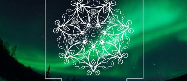 아크릴 레이저 조각 -엔틱 패턴 문양 01