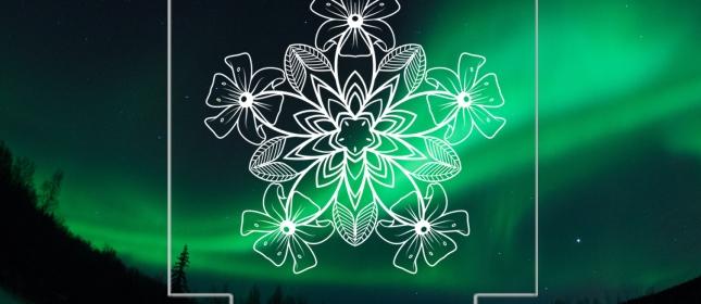 몇 가지 엔틱 패턴 문양 레이저 각인